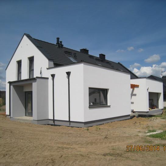 Budynek mieszkalny dwurodzinny w m. Kaźmierz