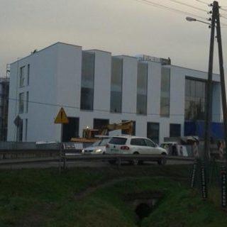 Budynek biurowy wraz z kondygnacją garażową