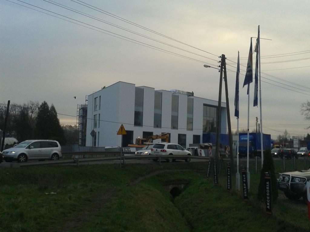 Budynek biurowy w Poznaniu 03 Widok z oddali