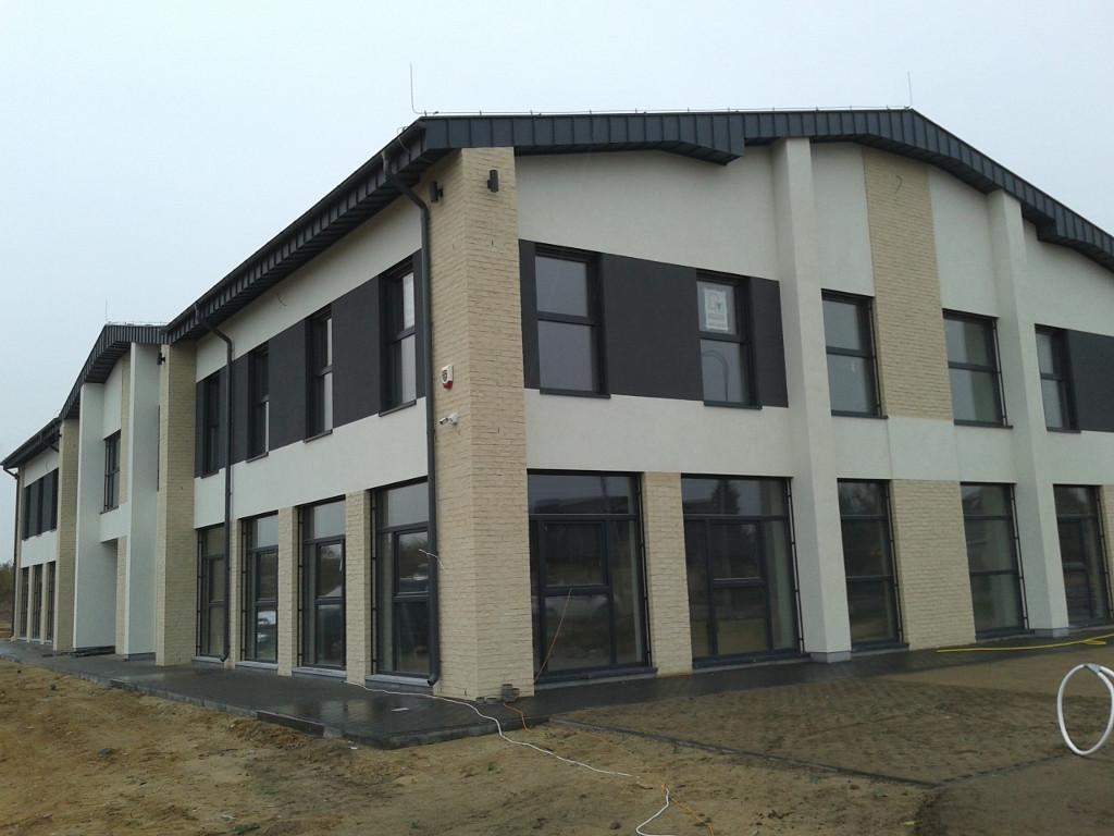 Budynek po zakończeniu budowy