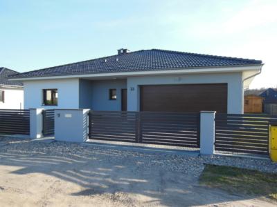 Dom jednorodzinny - elewacja frontowa